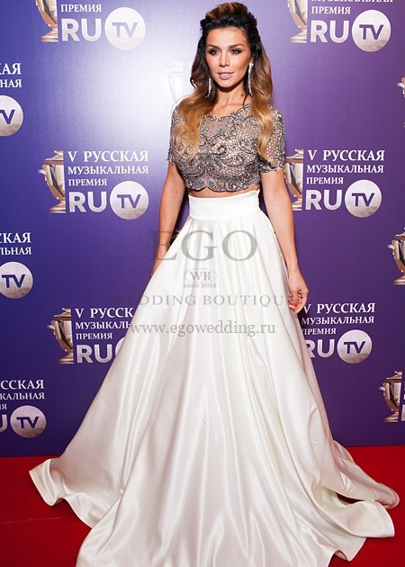 Русские звезды в платьях