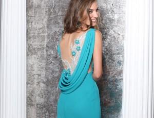 Вечернее платья бренда Tarik Ediz 92137