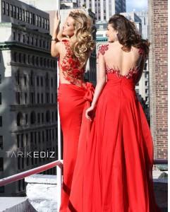 Вечернее платья бренда Tarik Ediz 92174